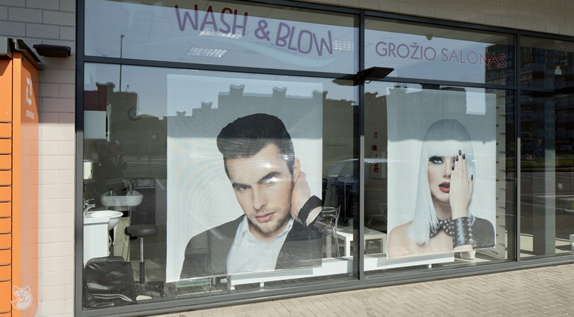 Grožio salonas Wash and Blow (PC Šilas)